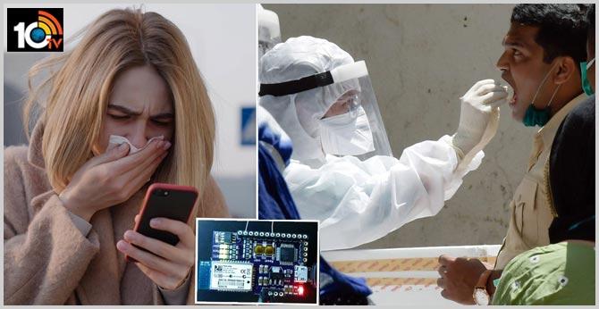 Scientists develop sensor that can help smartphones detect coronavirus in 60 seconds