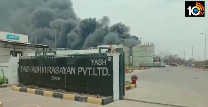 Major Blast In Chemical Factory in Gujarat's Dahej, 40 Workers Injured