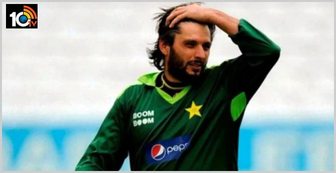 afridi tested corona positive