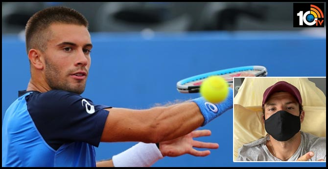 Croatian tennis player Borna Coric has tested positive for coronavirus a day after Grigor Dimitrov