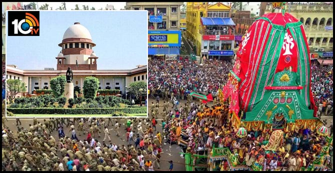 Supreme Court allows Rath Yatra to be conducted in Puri with certain restrictions