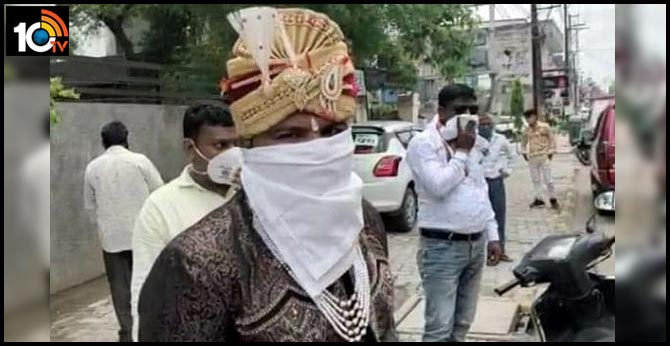 Groom Fined Rs 2,100 For Not Wearing Mask In Indore