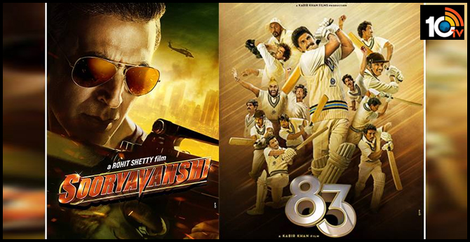 Akshay Kumar's Sooryavanshi And Ranveer Singh's '83' Will Release In Cinemas