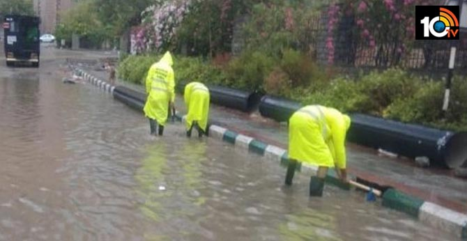 24 hours Rain In Hyderabad Southwest Monsoon Arrives In Telangana
