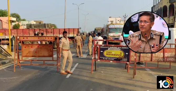 A.P. Police seal State's borders, stop entry of vehicles from all states