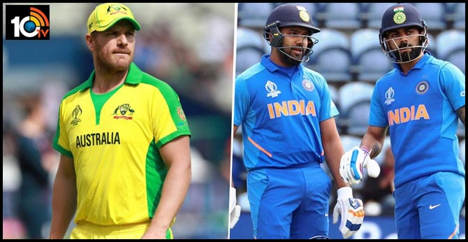 Australia captain Finch seeking umpire's help for Kohli and Rohit out