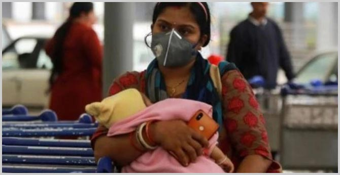 Women in India may have higher Covid-19 death risk than men, says study