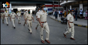 Corona virus positive for 2557 police men in maharastra