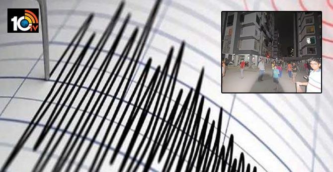 Earthquake tremors of 5.5 magnitude felt in Gujarat's Rajkot