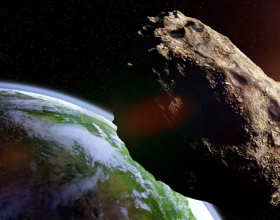 Asteroid the size of Empire State