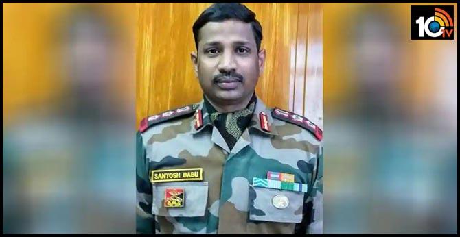 Funeral Of Telangana Suryapet Colonel Santosh