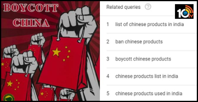 India-China Standoff: Indians Are Googling 'List Of Chinese Products' To Boycott