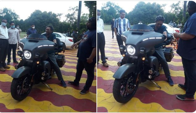 chief justice of india sa bobde on a harley davidson bike thrills