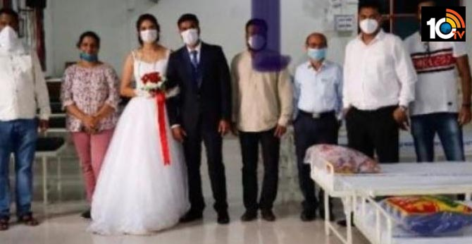 Maharashtra new Couple Donates Oxygen Cylinders & Beds On Wedding Day For COVID-19 Patients