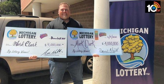 Monroe County man wins $4 million twice in Michigan Lottery
