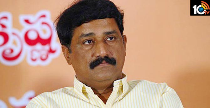 Period of arrest in Andhra Pradesh Ganta Srinivasa arrest soon ?