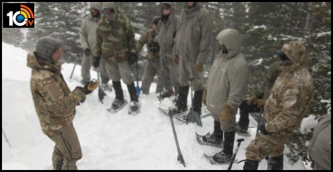 Sub-zero temperatures that have become a curse for soldiers