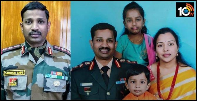 Telangana Suryapet Col Santhosh Babu Life
