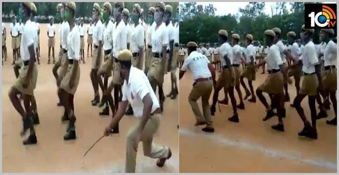 Telangana To The Tune Of Mohammed Rafi..Rafi Sahab Inspires  Trainee Police