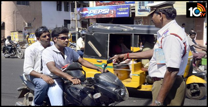 Traffic Police Rules & Fines, Challan in Hyderabad
