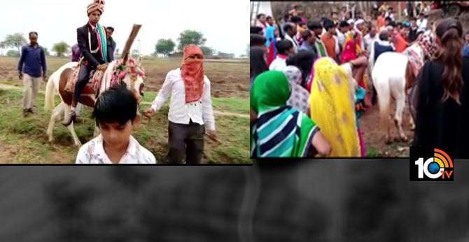 dalit groom stopped from riding horse in mp 4 arrested