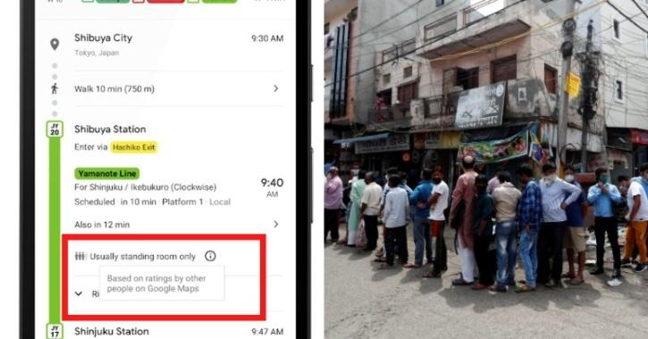 Use Google Maps To Avoid Crowded Places And Stay Safe: Here's How