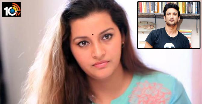 heroine renu deshay responds on Sushant Singh Rajput's suicide