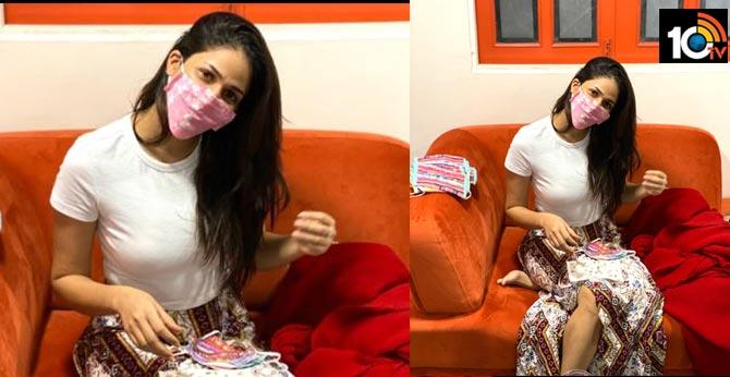 lavanya tripati started mask business along with designer anita reddy