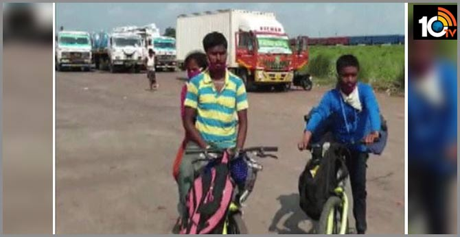 migrant sells wifes mangalsutra to purchase bicycles pedals from bengalur