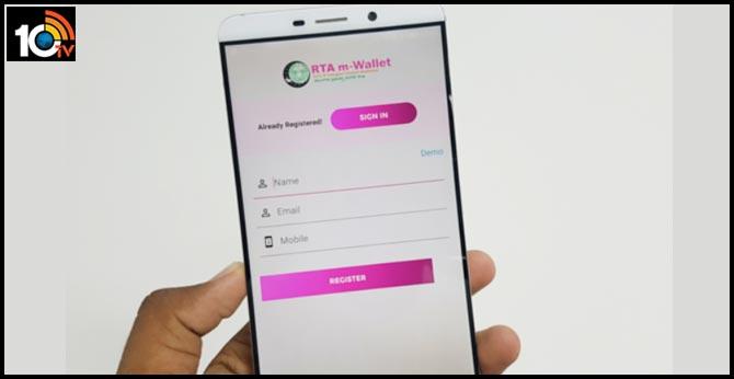 telangana RTA m-Wallet app many benefits download