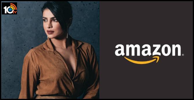 Priyanka Chopra Jonas Signs First Look TV Deal With Amazon