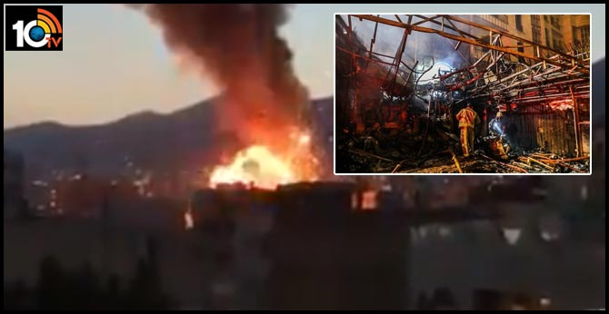 Gas explosion at medical clinic rocks Iran's capital, killing 19