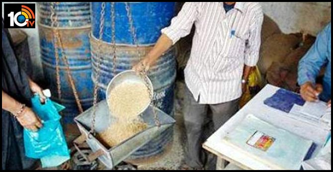 Free Ration Goods In Andhrapradesh Distribute rice, condiments