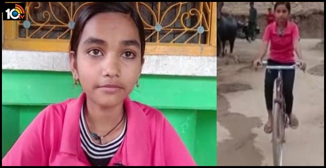 Girl secures top rank in MP Class 10 board exams, she cycles 24 Km to school daily