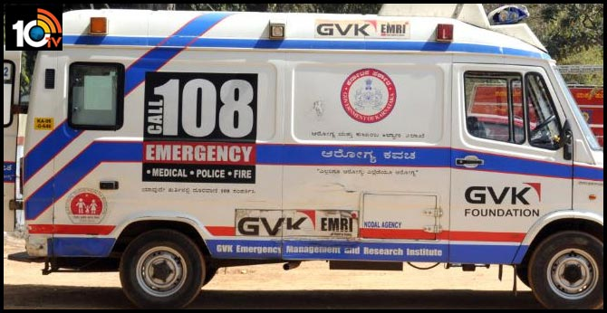 1088 AMBULANCESS READY AT ONETIME in vijayawada