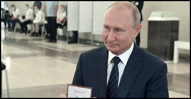 Russian voters agree to let Putin seek Two more terms