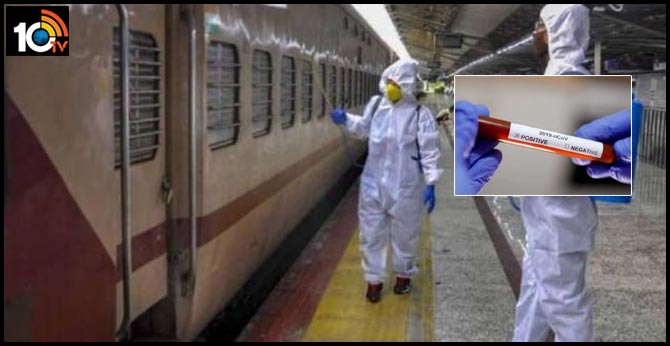 872 railway employees, kin, ex-staffers test coronavirus positive