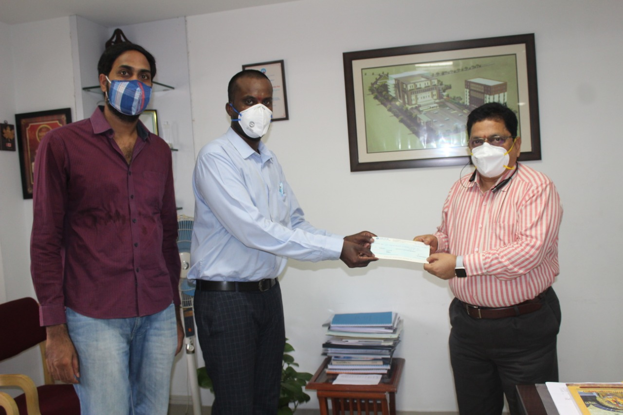 KPHB Balayya Yuvasena Donation for Cancer Patients