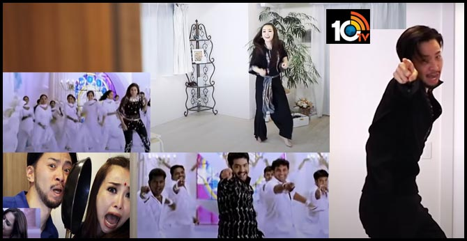 China Fans Dancing NTR's Song