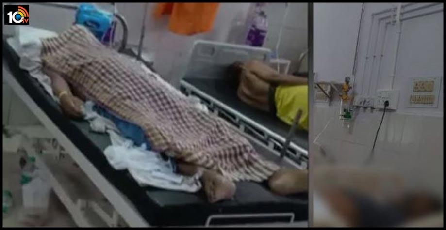 corona-dead-body-victim-left-in-ward-for-a-day-in-patna-nalanda-medical-college-hospital