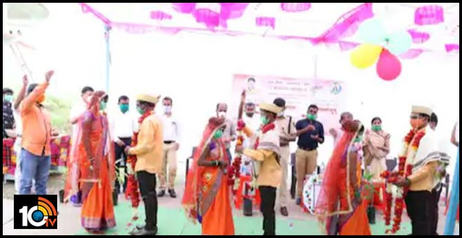 three hiv positive couples marriage in beed maharashtra