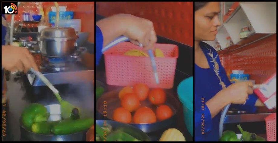 women-sanitising-vegetables-with-pressure-cooker-steam1