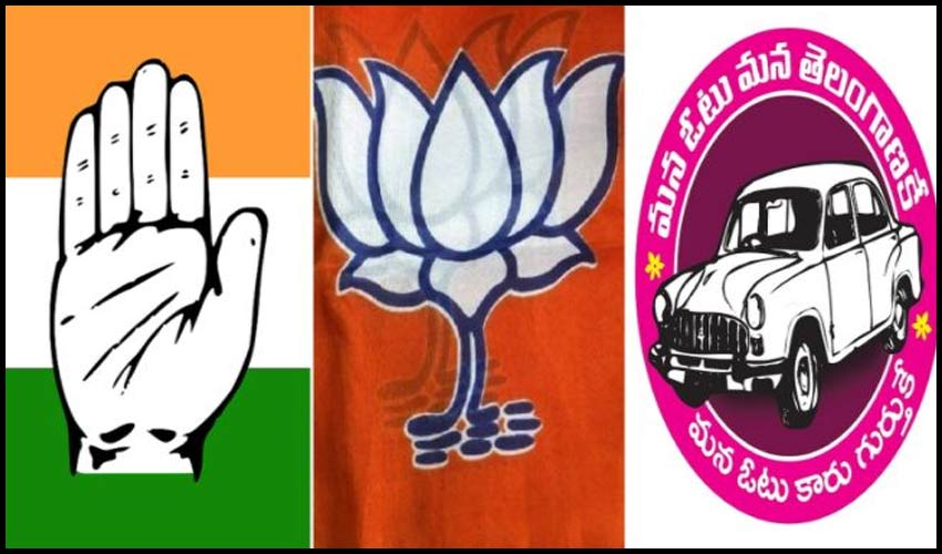 dubbaka-bi-elections-triangle-fight-between-congress-trs-and-bjp