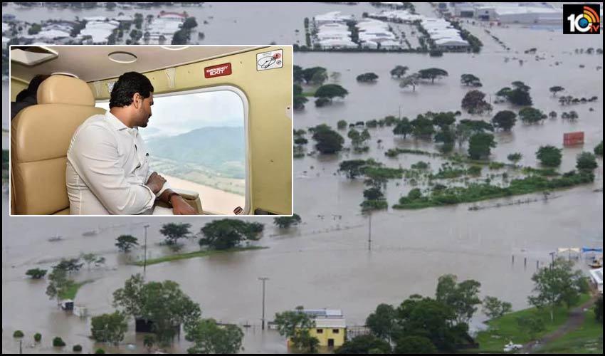 east-west-godavri-flood-affected-families-will-get-rs-2-finger-cm-pics-video-conference