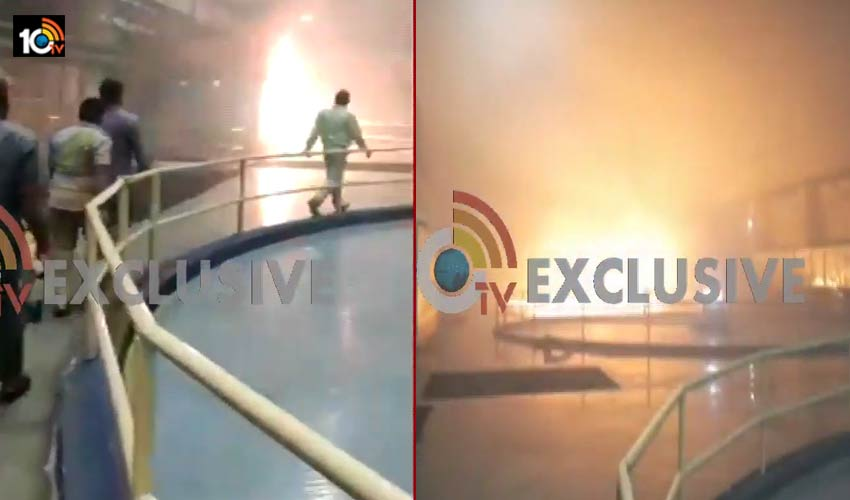 fire-accident-in-telangana-srisailam-left-power-project1