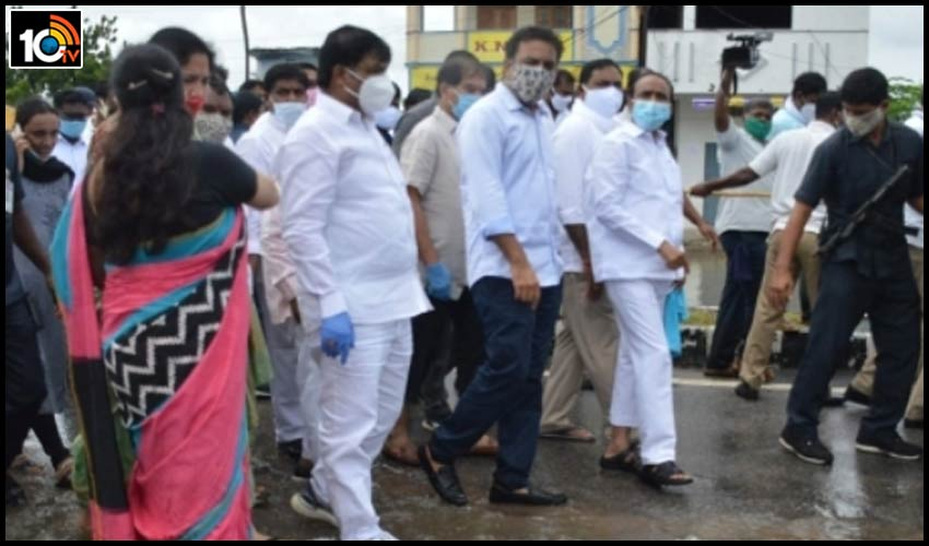 ktr-announces-remove-encroachments-of-drains-in-warangal-city
