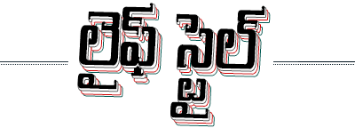 Lifestyle text in Telugu