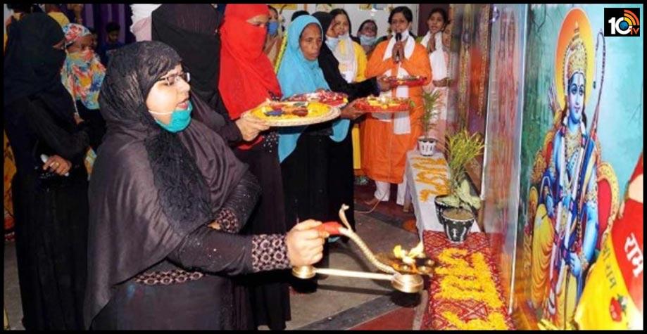 అయోధ్యలో రాముడికి ముస్లిం మహిళ పూజలు..మందిర నిర్మాణంలో పాలుపంచుకుంటాం