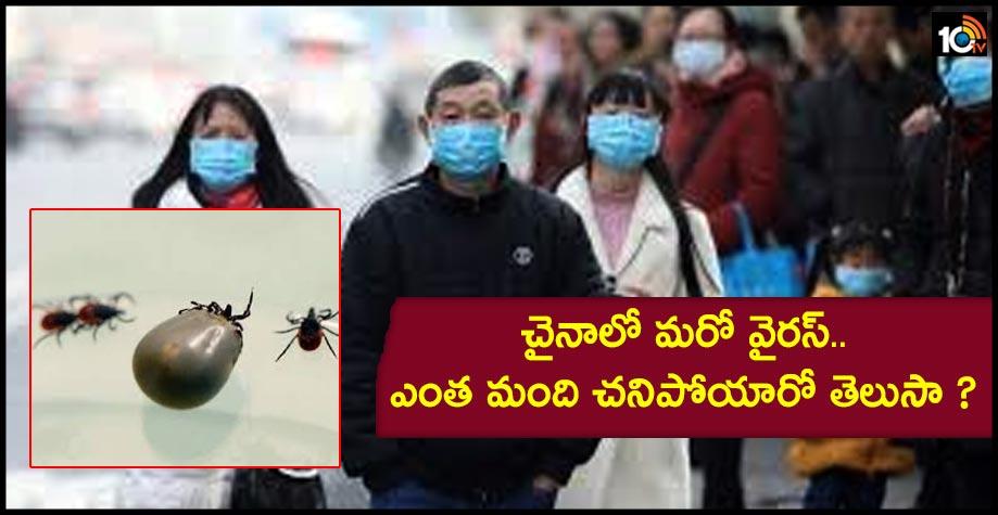 చైనాలో మరో వైరస్..ఎంత మంది చనిపోయారో తెలుసా ?