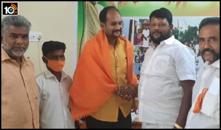 tamilnadu-periyar-ramaswamy-grandson-sathish-krishna-joined-in-bjp